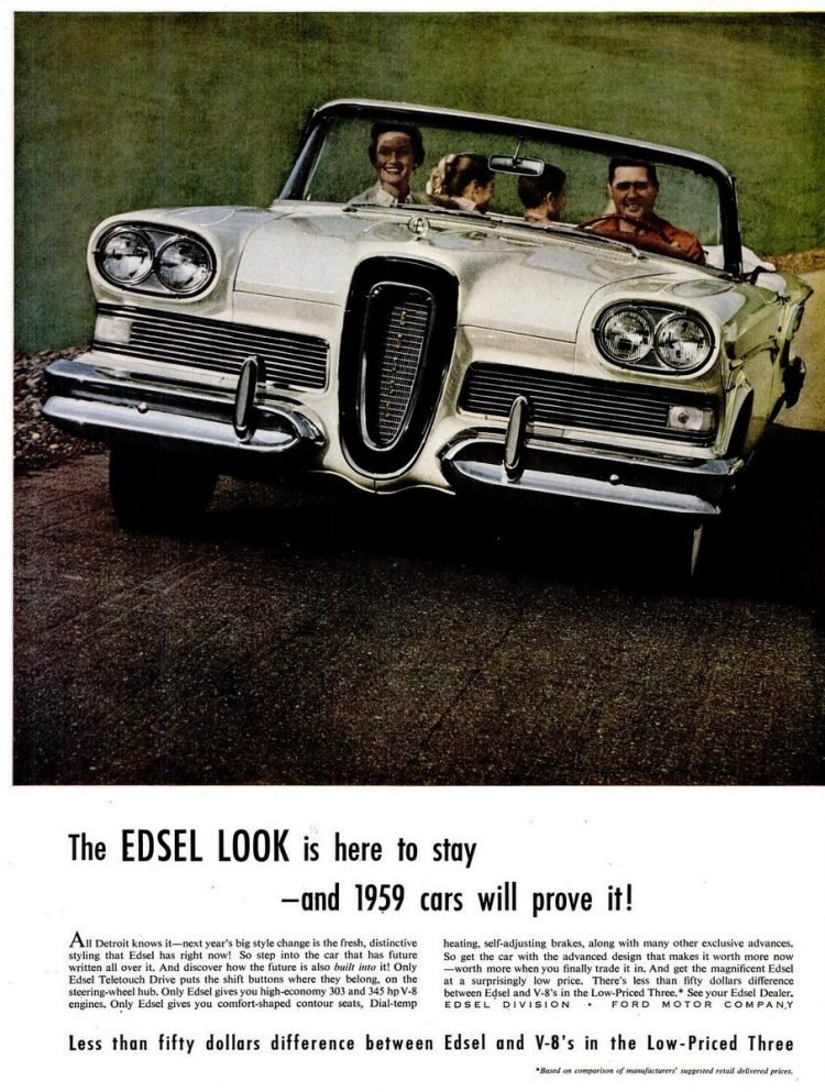 LIFE Jun 16, 1958 Edsel cars
