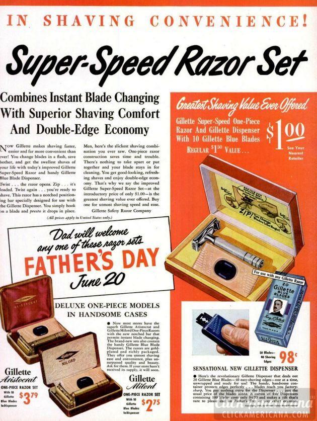 LIFE Jun 7, 1948 razor set