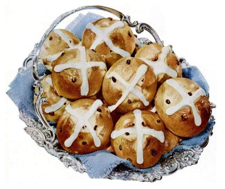 LIFE Mar 17, 1952 Easter hot cross buns