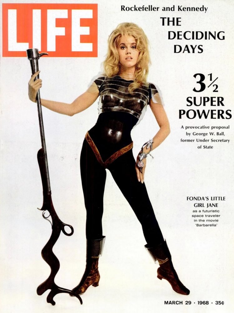 LIFE Mar 29, 1968 Jane Fonda cover