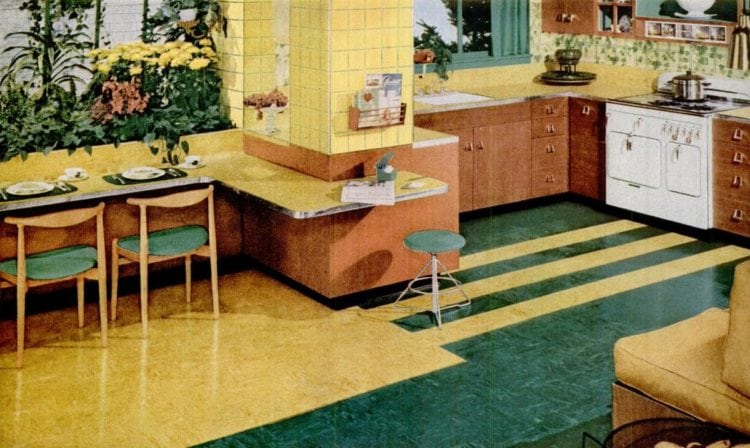 Retro Yellow Kitchens From Yesteryear Click Americana