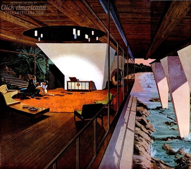 Space Age Amazing Retro Futuristic Homes Of The 60s