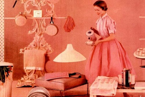 LIFE May 2, 1955 Pink household 2