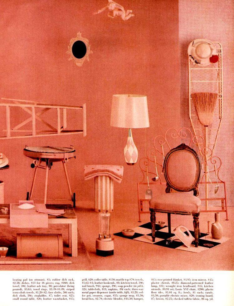 LIFE May 2, 1955 pink house