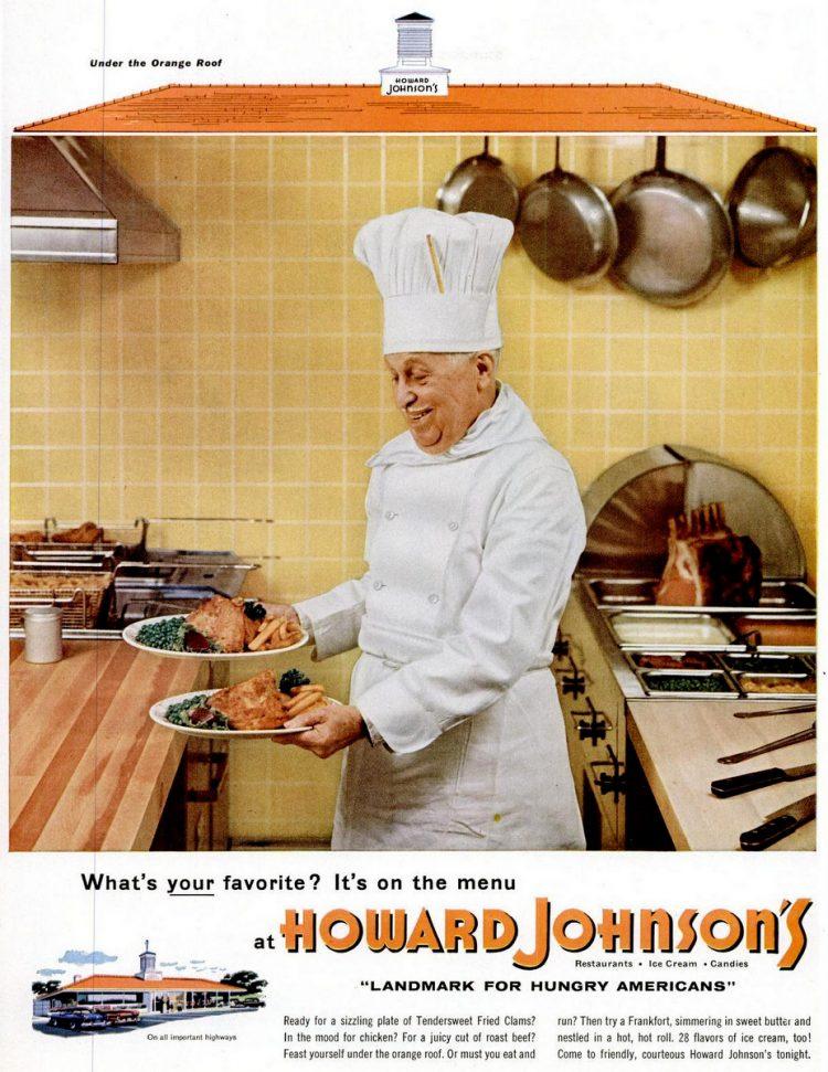 LIFE May 30, 1955 Howard Johnson's chef