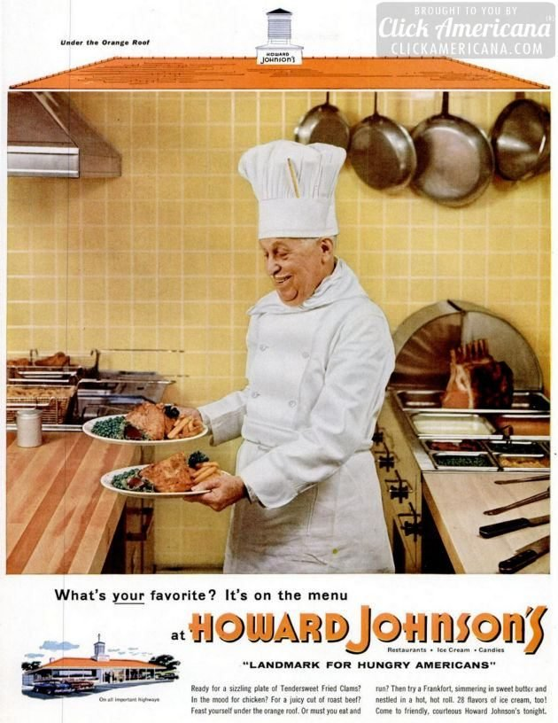 LIFE May 30, 1955 Howard Johnson's chef