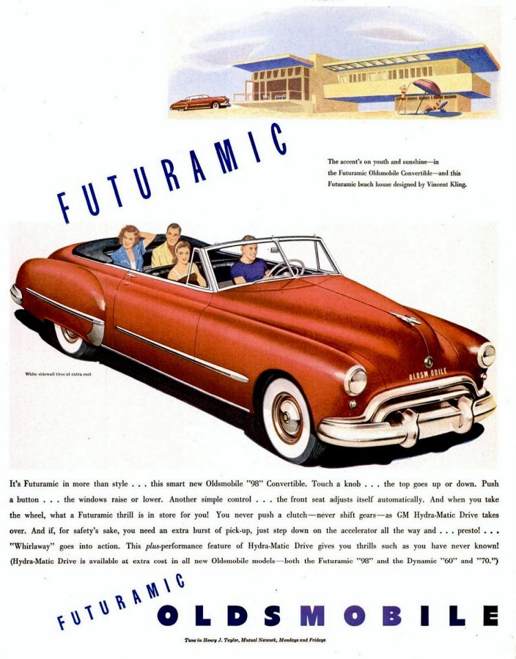 LIFE May 31, 1948 Oldsmobile cars