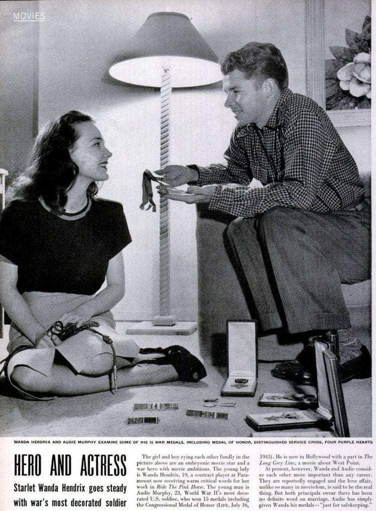 LIFE Nov 17, 1947 Audie Murphy WWII