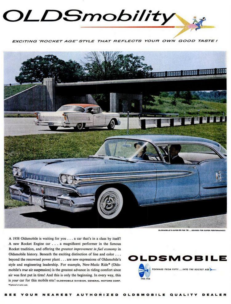 LIFE Nov 25, 1957 Oldsmobile
