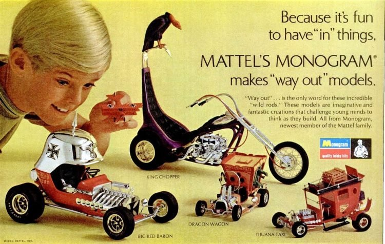 LIFE Nov 7, 1969 Mattel toys 2