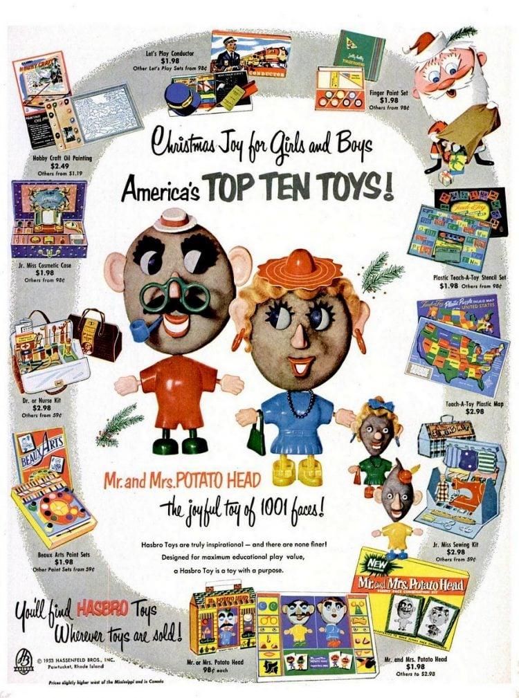 LIFE Nov 9, 1953 toys hasbro