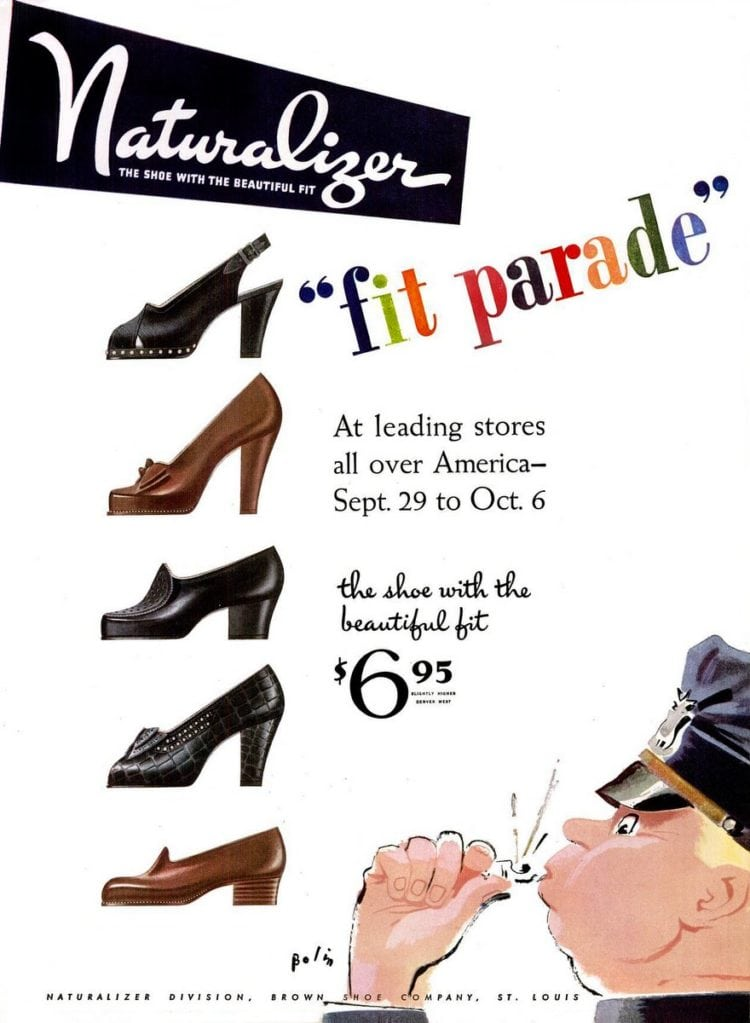 Vintage Naturalizer footwear for her