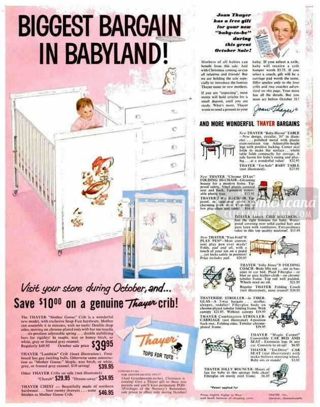 Cute Baby Nurseries From The Fifties 1955 1957 Click