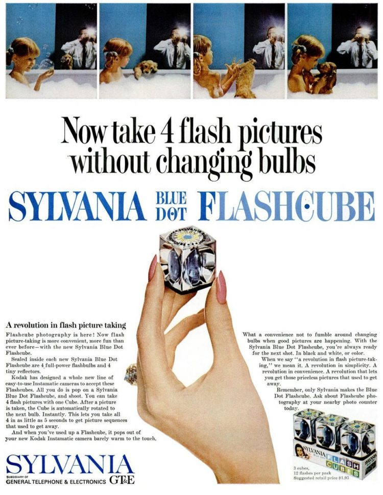LIFE Oct 15, 1965 Flash cubes - tech cameras