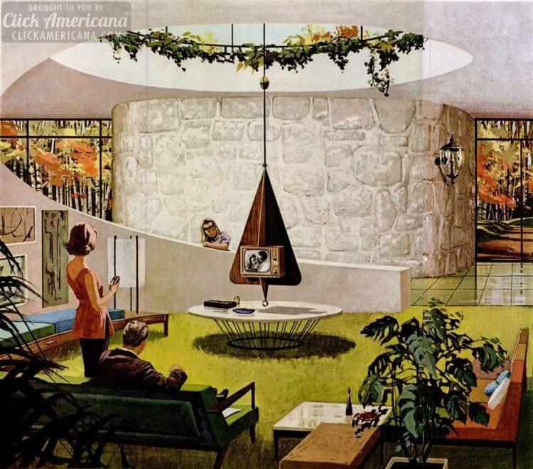 Futuristic Home Decor: Space Age: Amazing Retro Futuristic Homes Of The '60s
