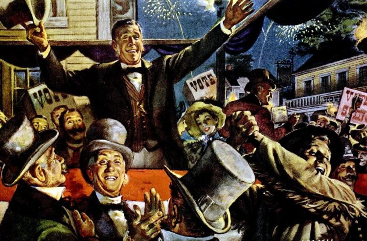 LIFE Oct 27, 1952 vote