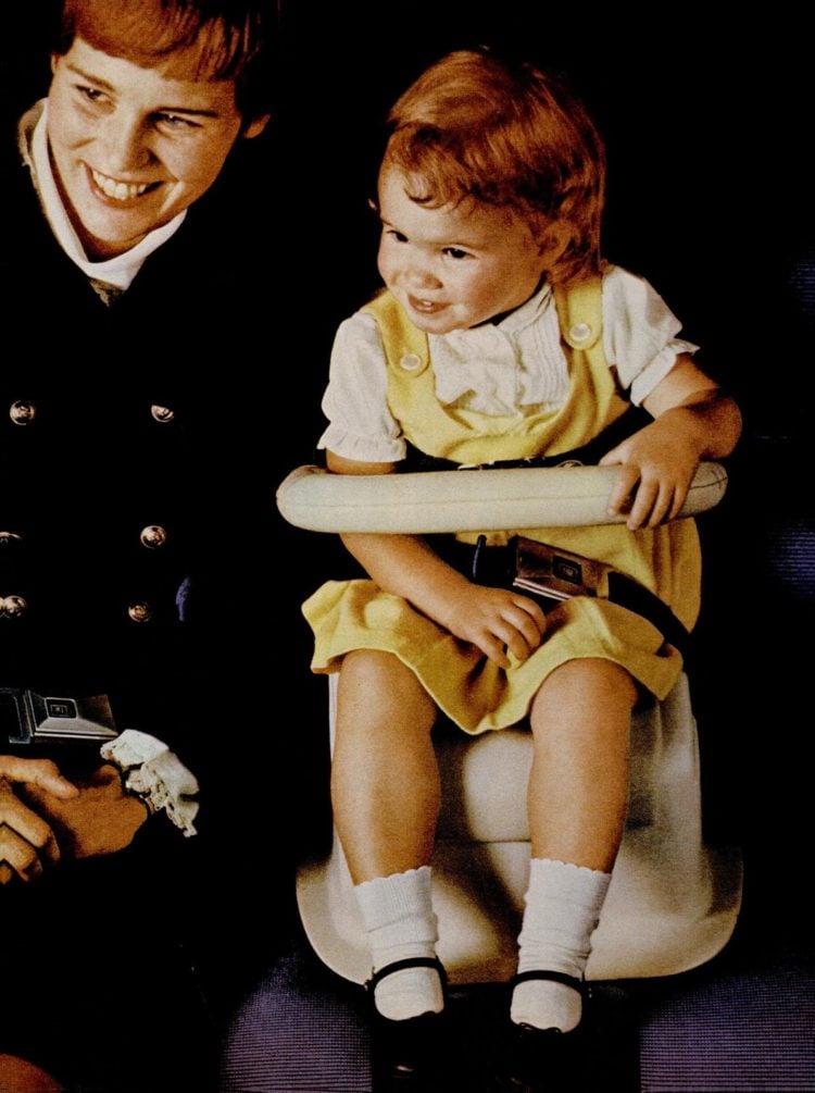LIFE Oct 27, 1967 GM baby car seat