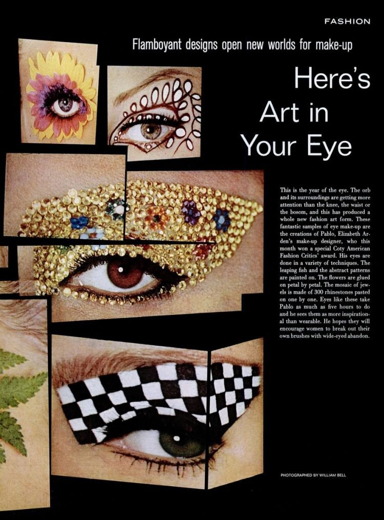 LIFE Oct 29, 1965 beauty eye art