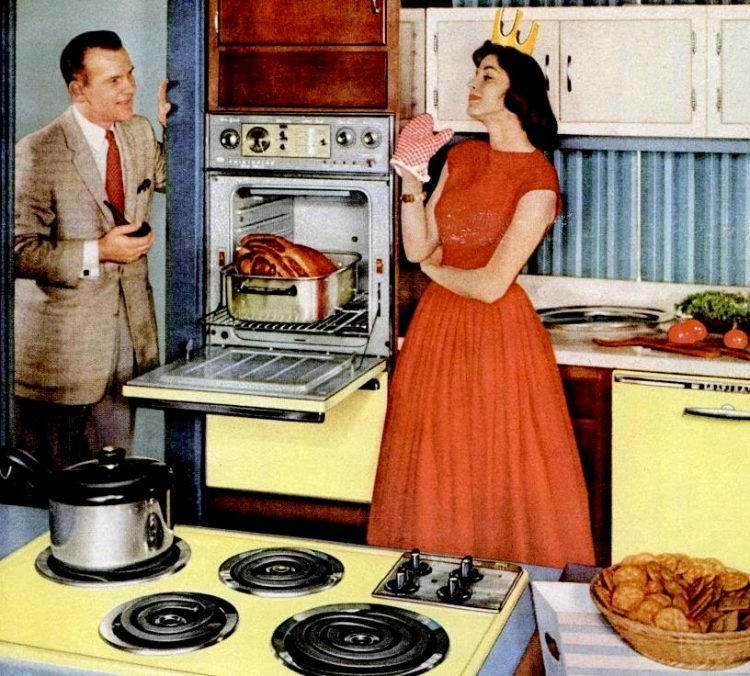 LIFE Sep 14, 1959 Frigidaire kitchen appliances yellow