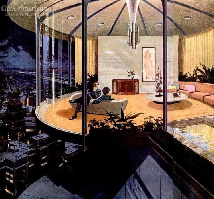 Space age: Retro futuristic homes