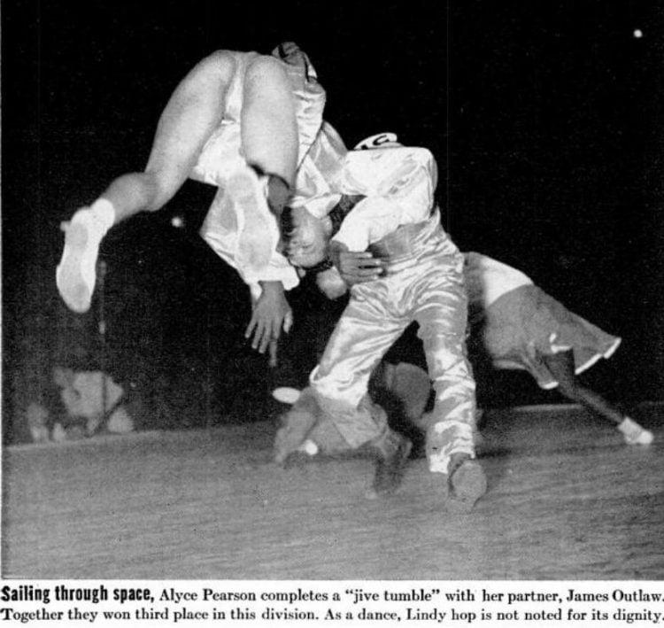 LIFE Sep 15, 1941 Lindy Hop dancers