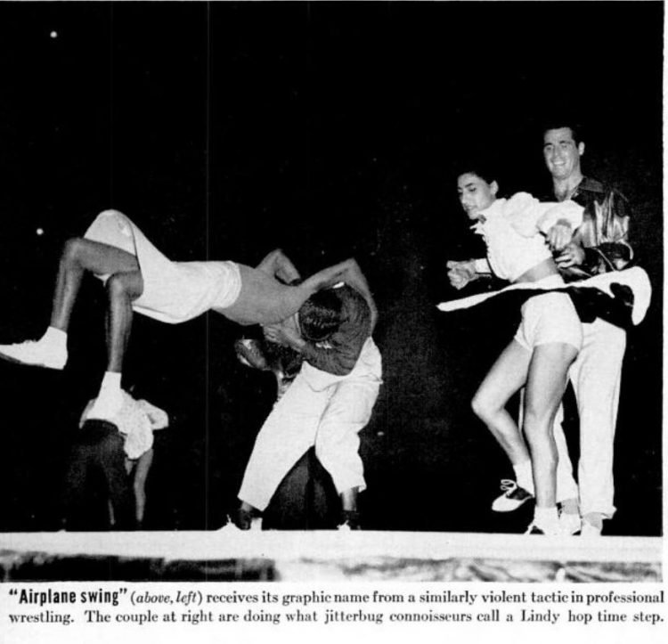 LIFE Sep 15, 1941 Lindy Hop dancing