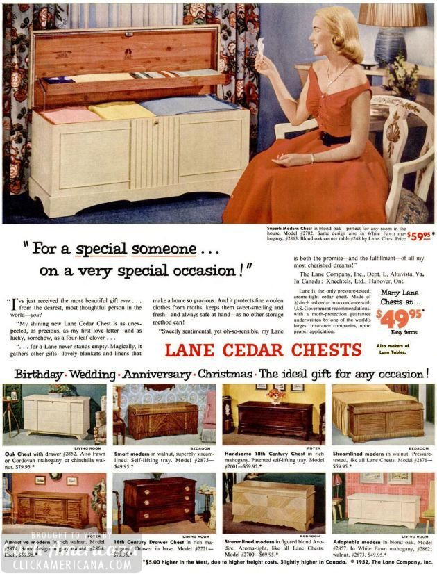 LIFE Sep 15, 1952 hope chest