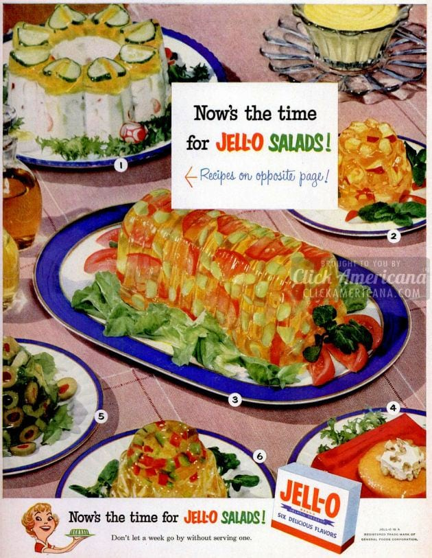 Now's the time for Jell-O salads! (1952)