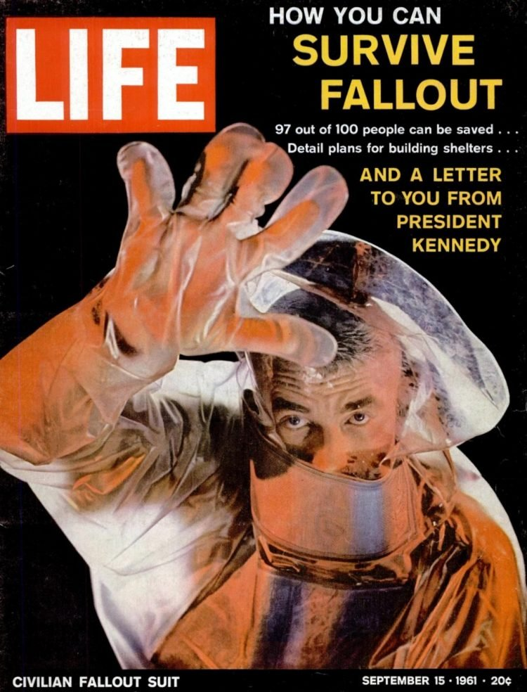 LIFE Sep 15, 1961 - How you can survive nuclear bomb fallout
