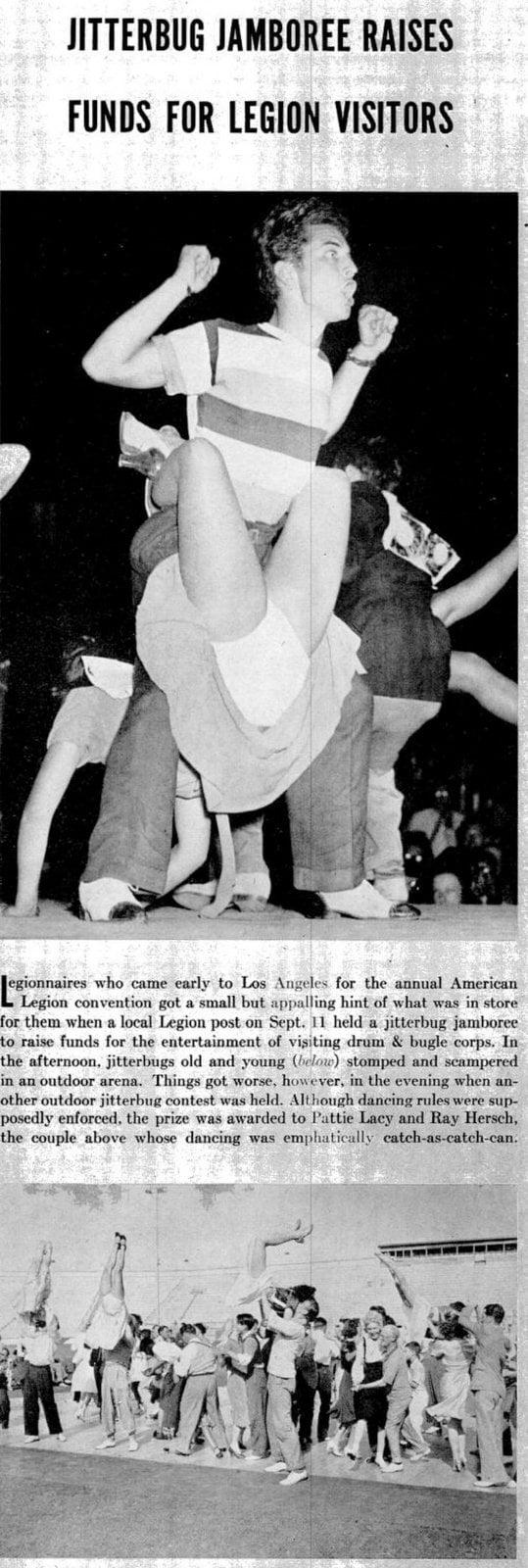 LIFE Sep 26, 1938 Jitterbug dancing