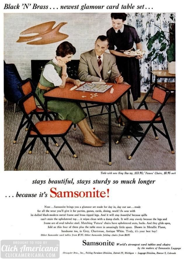LIFE Sep 26, 1955 card table