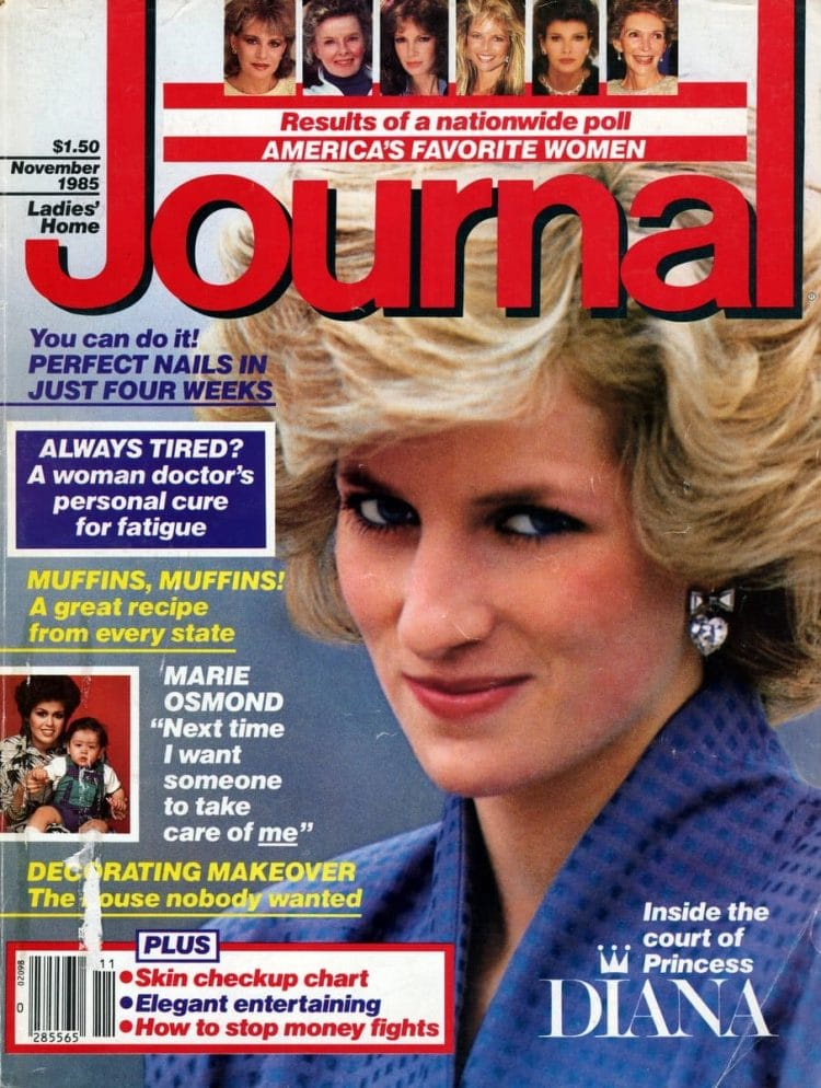 Ladies Home Journal 1985 - Princess Diana