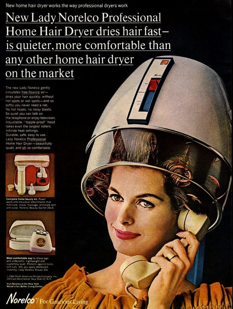 Lady Norelco Professional Home Hair Dryer (1964)