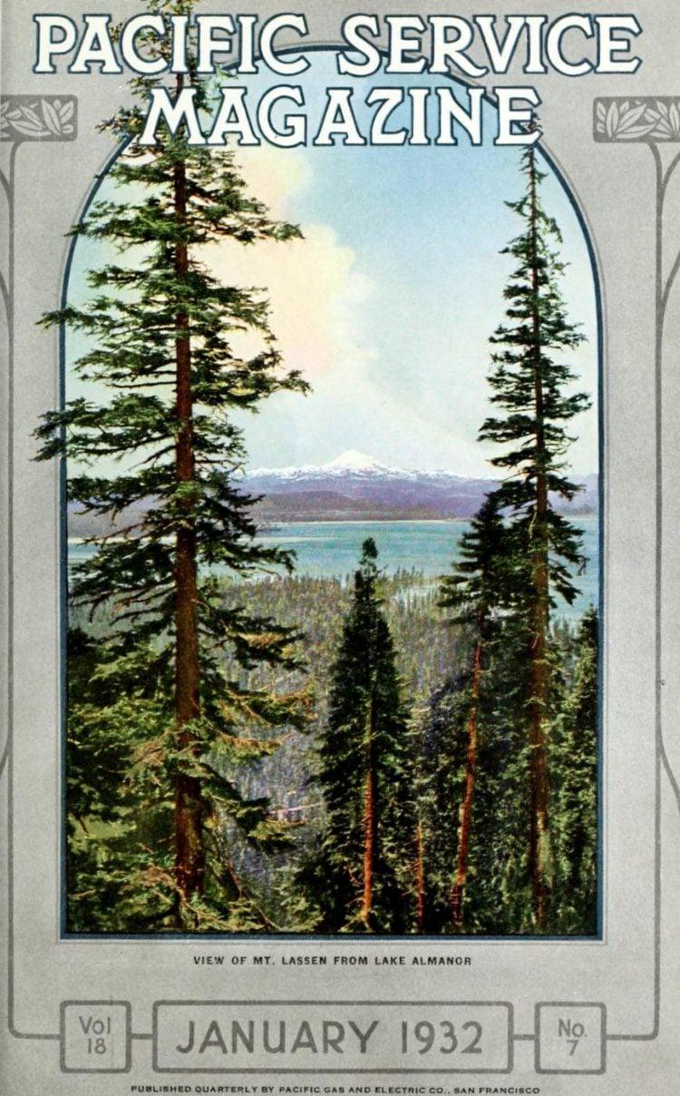Lake Almanor history - Pacific Service Magazine 1932