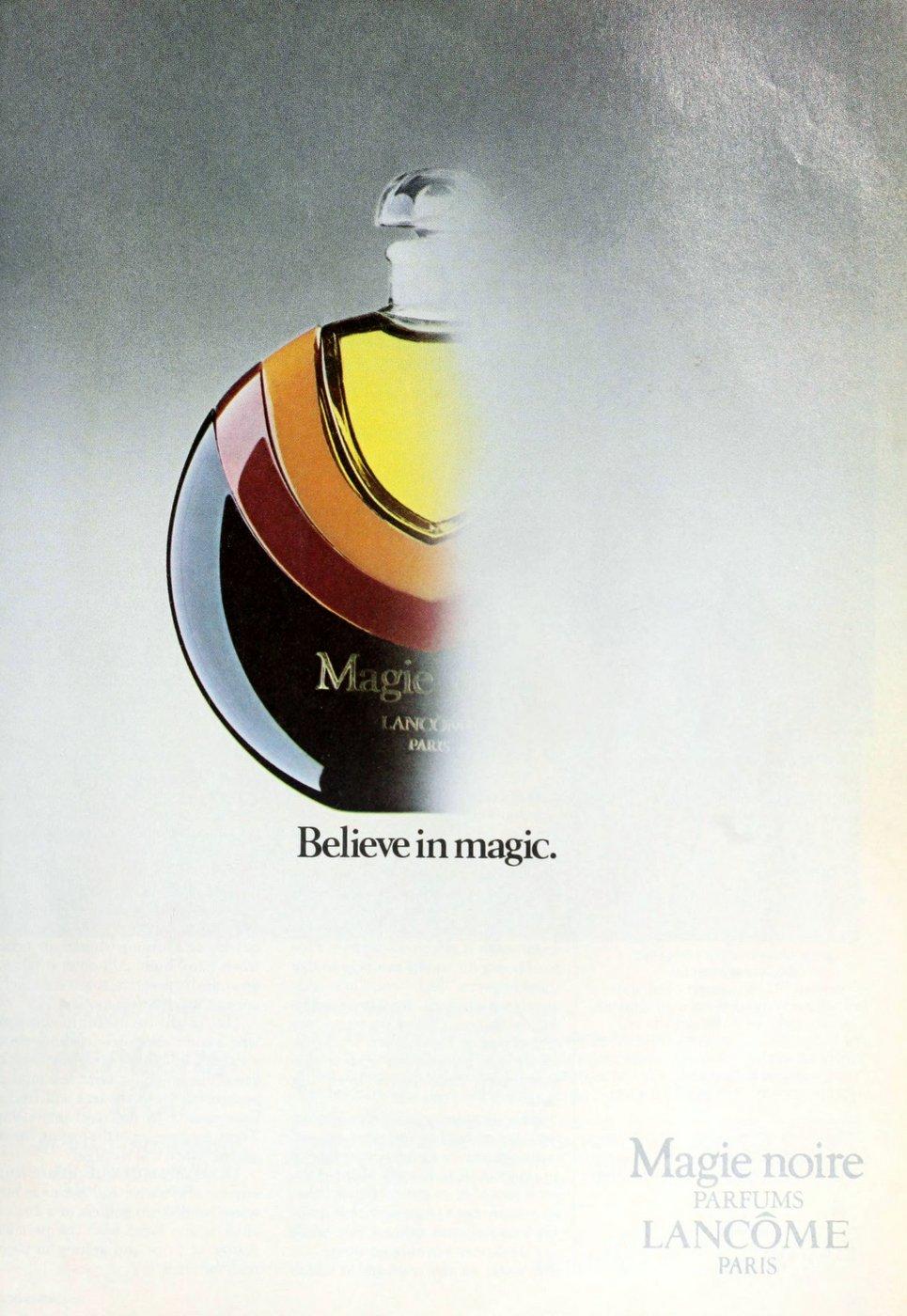 Lancome Magie Noire parfum 1983