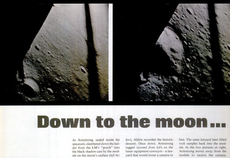Landing on the moon - 1969 - Life (1)