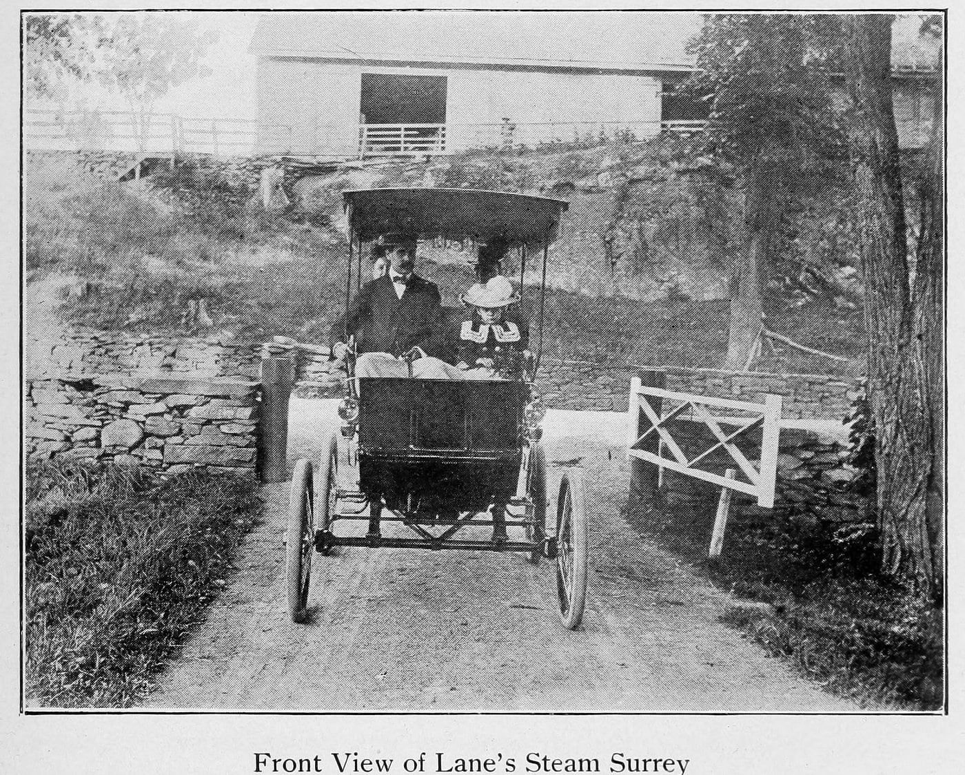 Lane Steam Surrey (1902)