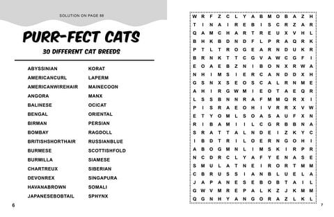 Persnickety image throughout large printable word search