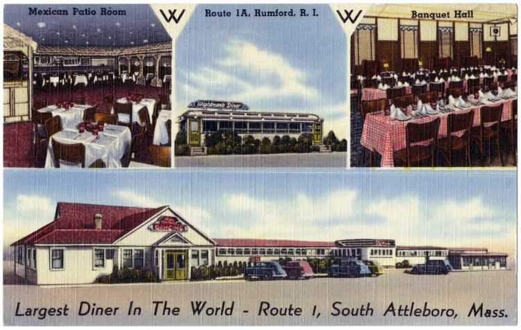Largest diner in the world - Route 1, South Attleboro, Mass