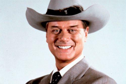 Larry Hagman as J.R. Ewing of Dallas