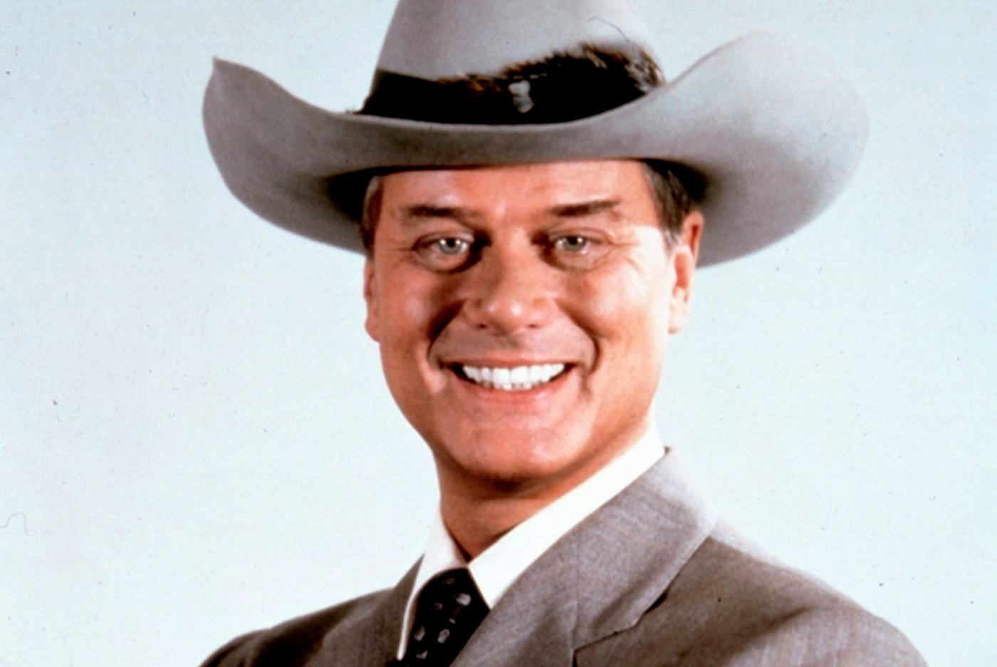 Larry Hagman as J.R. Ewing of Dallas