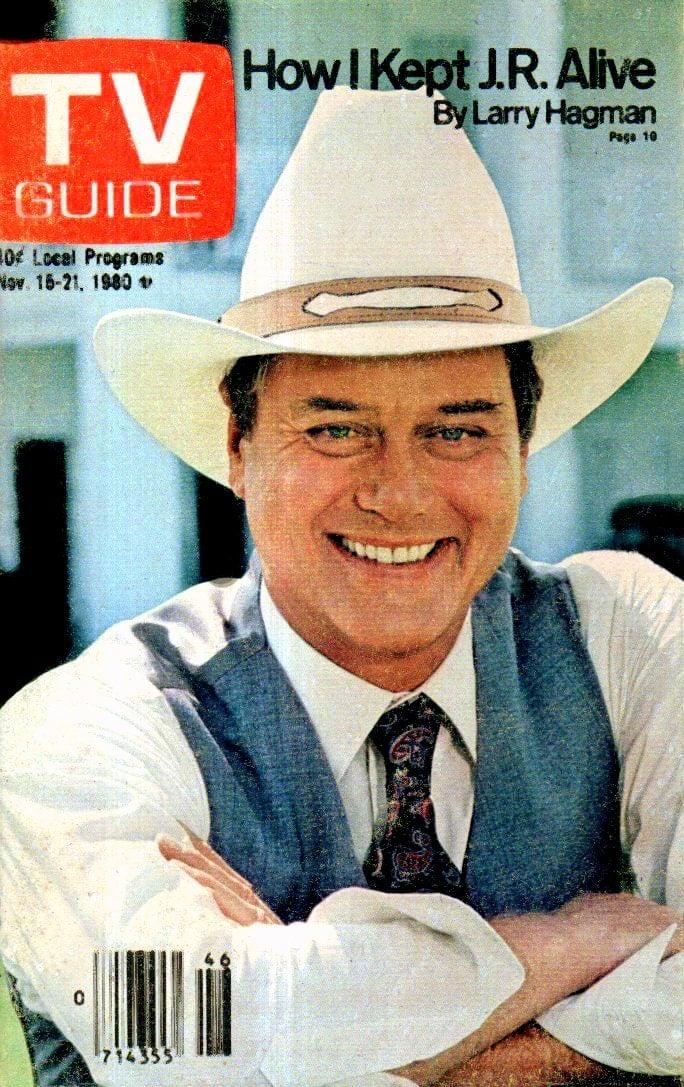 Larry Hagman on TV Guide - Dallas