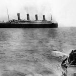 Last known photo of the Titanic before it sank