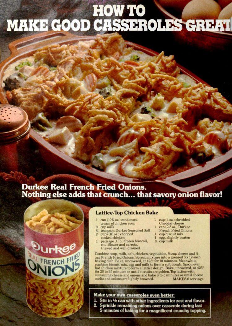 Lattice-top chicken bake - Retro 80s recipe (2)