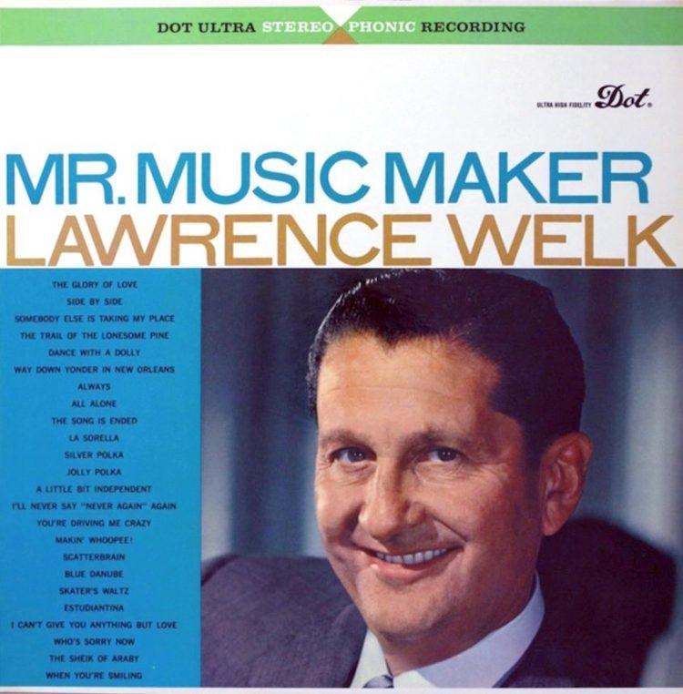 Lawrence Welk album - Mr Music Maker