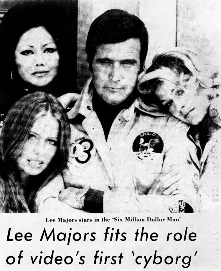 Lee Majors - TV's first cyborg