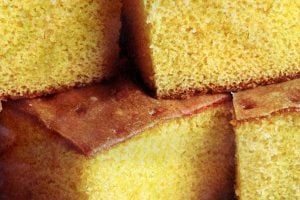 Lemonade cake recipe with pudding from 1977