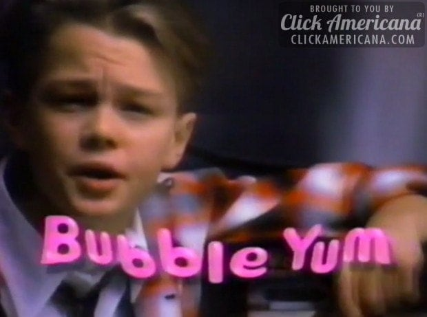 Leonardo Dicaprio Bubble Yum Tv Commercial