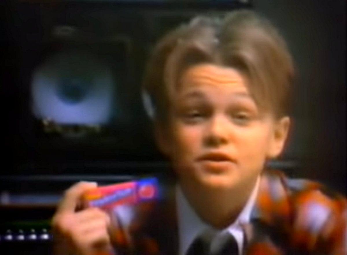 Leonardo DiCaprio's Bubble Yum TV commercial (1988)