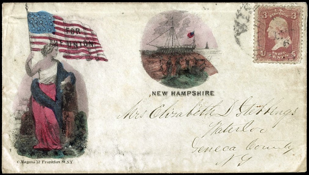 Letter written and mailed during the Civil War - 1860s (4)